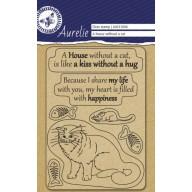 "Aurelie  Clear stempel ""A house Whitout"""