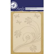 Aurelie embossing folder Habitat Background