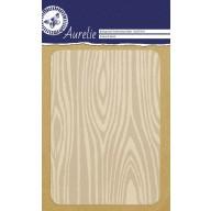 Aurelie embossing folder Textured Wood Background