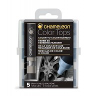 Chameleon Color Tops Grey Tones