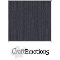 CraftEmotions linnenkarton 10 vel antraciet LHC-72 A4 250gr