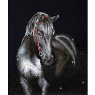 DIAMOND DOTZ® Midnight Stallion DD10.012