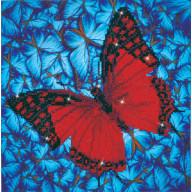 DIAMOND DOTZ Flutterby Red DD5.020