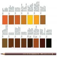Faber Castell Polychromos kleurpotlood per stuk  bruin en aarde tinten