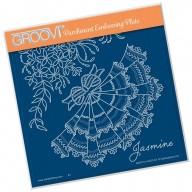 Groovi Plate A5 Jasmine