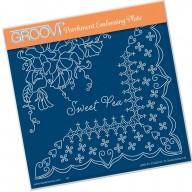 Groovi Plate A5 Sweet Pea