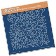 Groovi Plate Flower Tangle