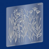 Groovi Plate Meadow Grasses