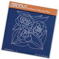 Groovi Plate Roses