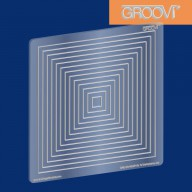 Groovi Plate Square Nested