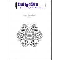 IndigoBlu Stamp Large Snowflake