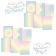 RAINBOW DUO - PARCHMENT & PAPER - PASTEL RAINBOW A4