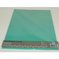 Perkamentpapier Parchment Cards  Smaragd