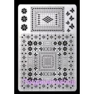 Multi grid 25 rechthoeken vierkant