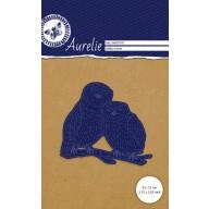 Aurelie Snij- & Embossingsmal  Verliefde Uilen