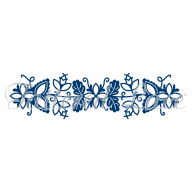 Tattered Lace Die Totally Entwined Border Leaves TLD0321