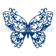 Tattered Lace Die Flutter Shy D1332