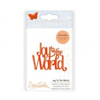 Tonic Studios Christmas sentiments - Joy to the world 1402E