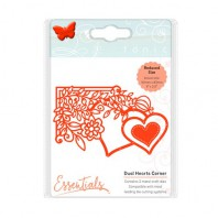 Tonic Studios Die fanciful floral - duel hearts 1538E