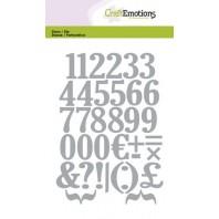 Die Craftemotions Numbers