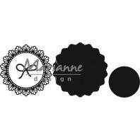 Marianne D Craftable touw cirkel CR1414 14,5x18,0cm (07-17)