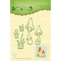 LeCrea - Lea'bilitie Mushrooms snij en embossing mal 45.2274 (08-16)