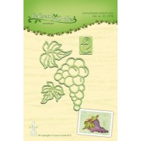 LeCrea - Lea'bilitie Bunch of grapes snij en embossing mal 45.2298 (08-16)