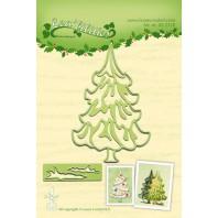 LeCrea - Lea'bilitie Christmas tree snij en embossing mal 45.2328 (08-16)