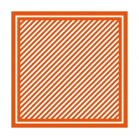Tonic Studios 8x8 Embossing folder - Simple stripes 1443E (09-16)