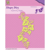 Nellies Choice Shape Die - Swirls & leaves SDL025 (08-16)