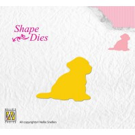 Nellies Choice Shape Die - puppy SD109
