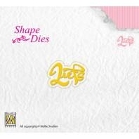 Nellies Choice Shape Die - NL - Liefs SD090