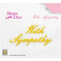 Nellies Choice Shape Die - ENG - With Sympathy SD097