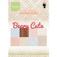 Marianne D Paper pad Beary cute PK9145 15x21 cm (05-17)
