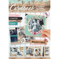 Studio Light Card Book A4 Milestones 04 CARDBOOKSL04 (07-16)