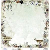 Studio Light Scrappapier 10vel 30,5x30,5 Frozen Forest 01 SCRAPFF01 (09-16)