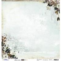Studio Light Scrappapier 10vel 30,5x30,5 Frozen Forest 02 SCRAPFF02 (09-16)
