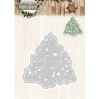 Studio Light Embossing Die Cut Stencil Woodland Winter nr 38 STENCILWW38 (07-17)