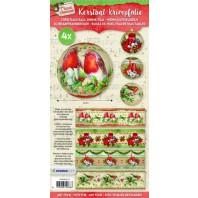 Studio Light Kerstbal krimpfolie - Classic Christmas 10 SHRINKSL10 (07-17)