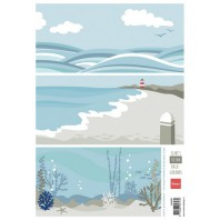 Marianne D 3D Knipvellen Eline's background ocean AK0067 A4 (05-17)