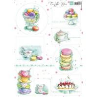 Marianne D 3D Knipvellen Tea for you 1 VK9556 A4 (04-17)