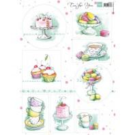 Marianne D 3D Knipvellen Tea for you 2 VK9557 A4 (04-17)