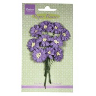 Marianne D Decoration Daisies - dark lavender  RB2255 (New 03-16)