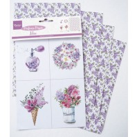 Marianne D Decoration Perfumed paper lilac CA3131 16x27 cm (05-17)