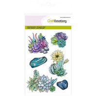 CraftEmotions clearstamps A6 - cactus vetplant Botanical Nature (04-17)