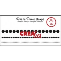 Crealies Clearstamp Bits&Pieces no. 76 1x95-2,5x95-5x95mm / CLBP76 (04-17)