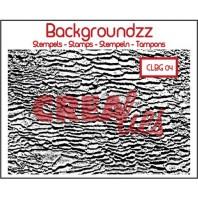 Crealies Clearstamp Backgroundzz 04 strand 95x135mm / CLBG04 (10-16)