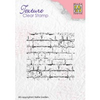 Nellie's Choice Clearstamp - Texture Bricks TXCS003