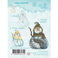 Doodle clear stamp Snowman 551314