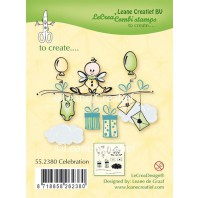 LeCrea - Clear stamp Celebration 55.2380 (08-16)
